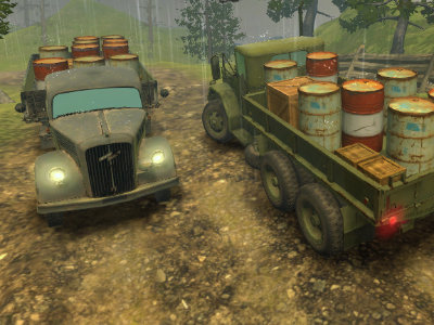 Off-Road Rain: Cargo Simulator